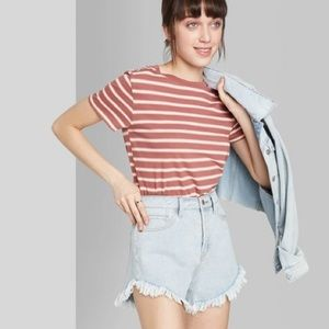 Wild Fable Striped T-shirt - XS